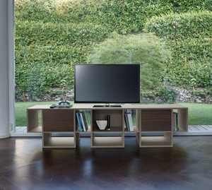 Antonello - Spinnaker Bookcase and TV Stand
