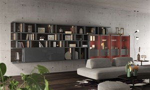 Turati - Bookcase Milano City Life