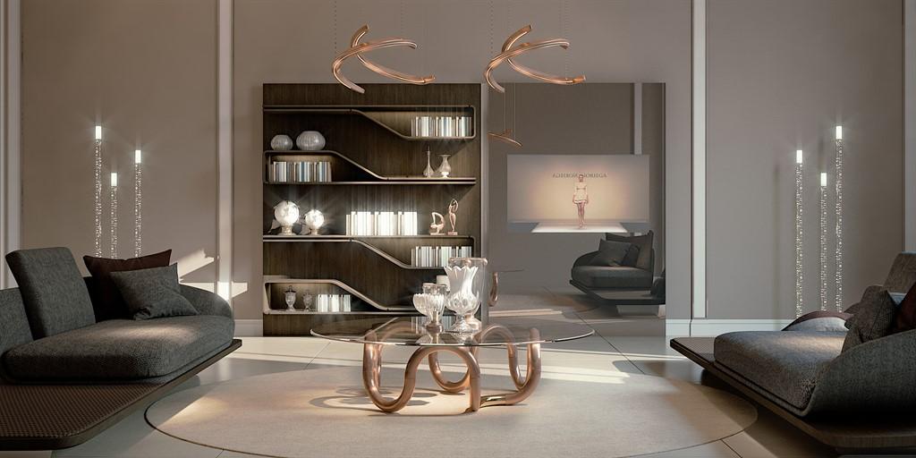 Italian Furniture - Segno Coffee Table