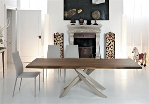 Bontempi Casa - Artistico Fixed Dining Table - 98in W - QS