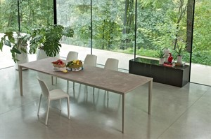 Bontempi Casa - Echo In Extendable Table - 55-71-87in W